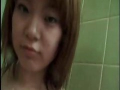 Oriental Legal age teenager From Japan Take A Hot Shower